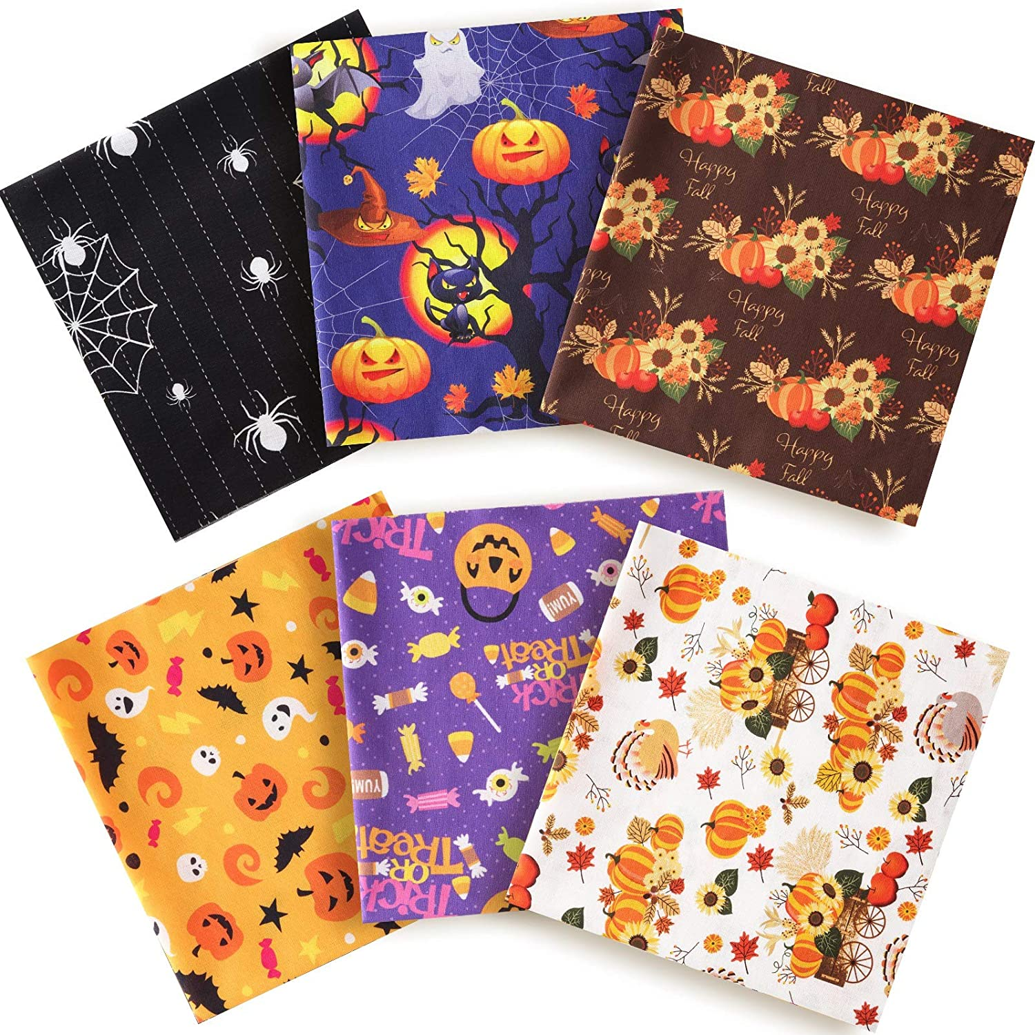 Cotton Printed Fabric Halloween