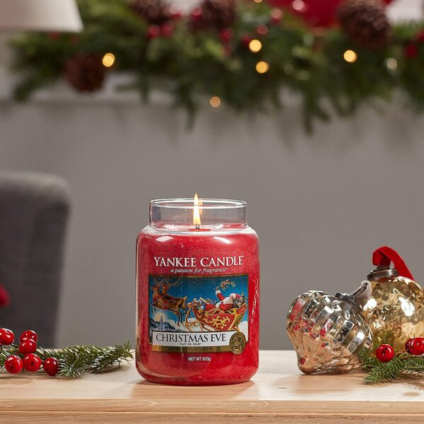Candle Christmas Eve Scented