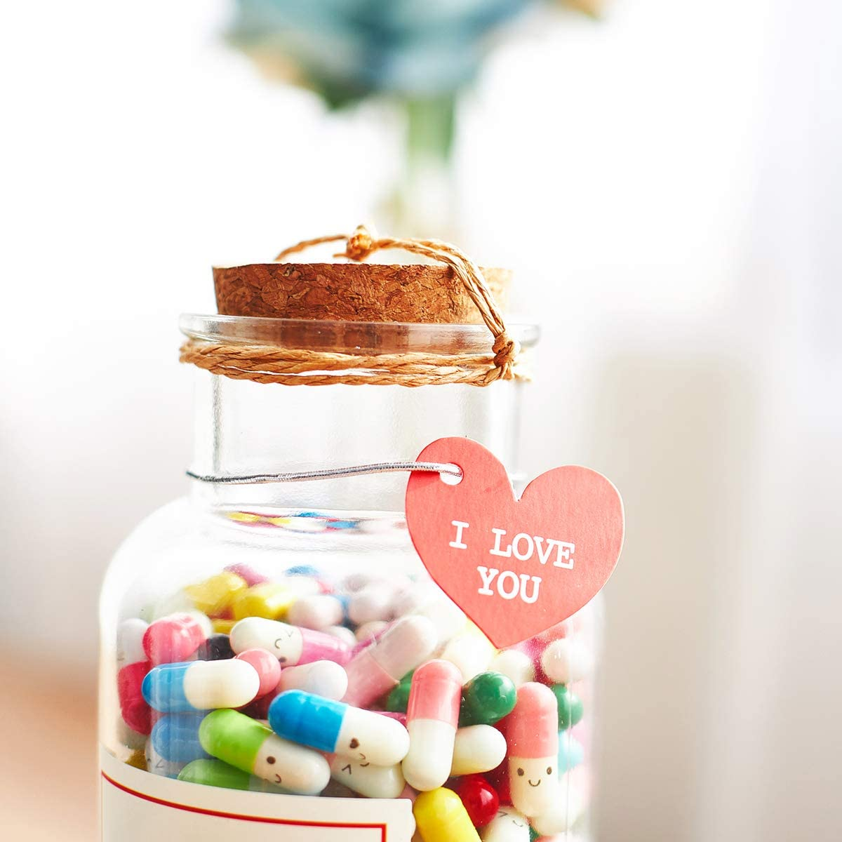 Gifts for him gift for her Boyfriend Gifts Message in a Bottle Capsule