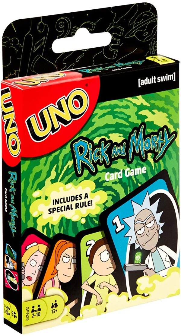 UNO Rick and Morty