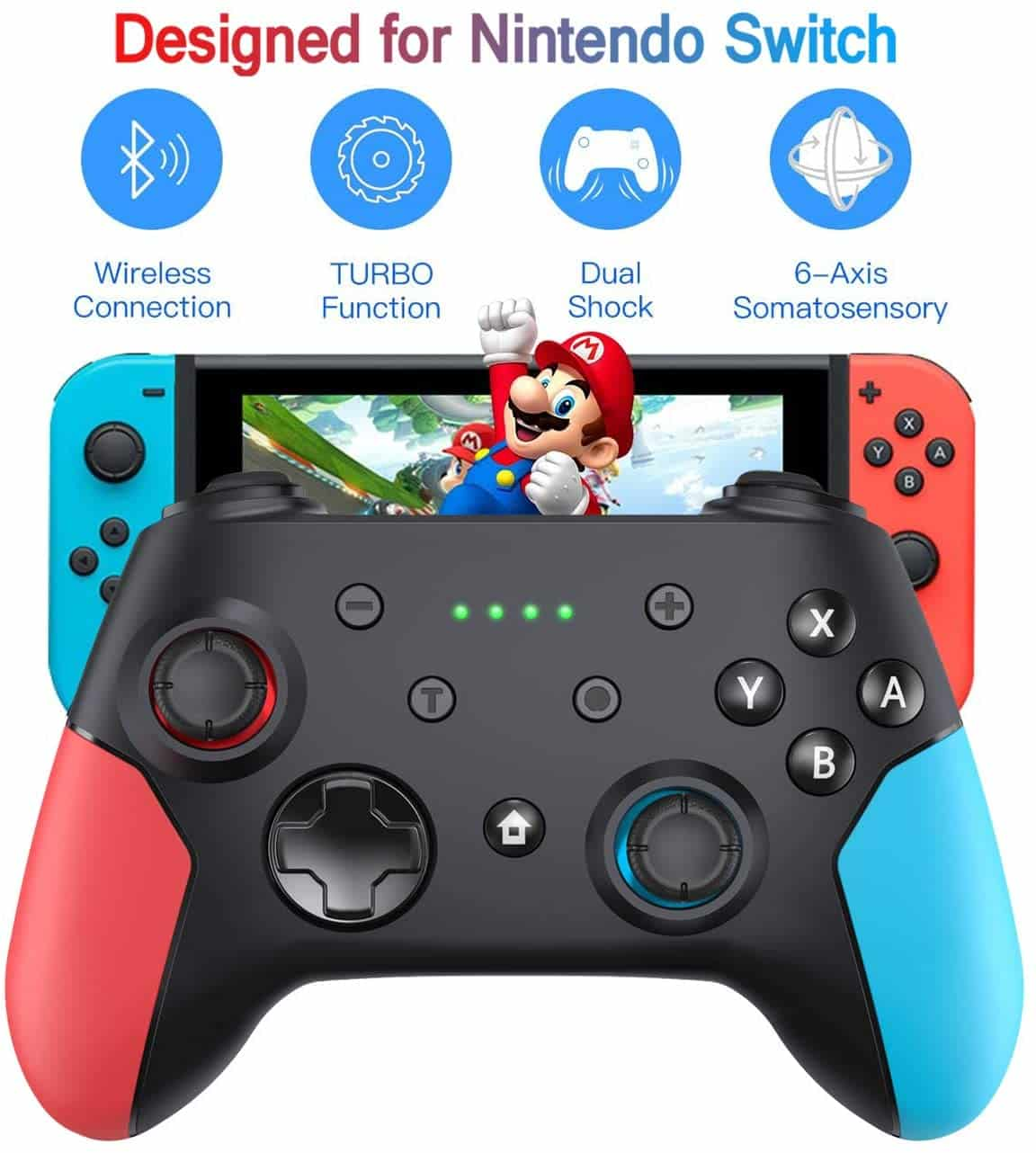 Wireless Nintendo Switch Pro Controller