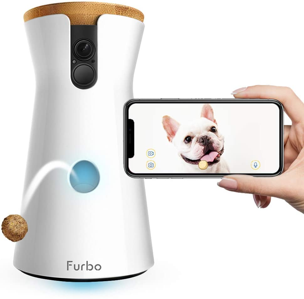 Treat Tossing, Full HD Wifi Pet Camera