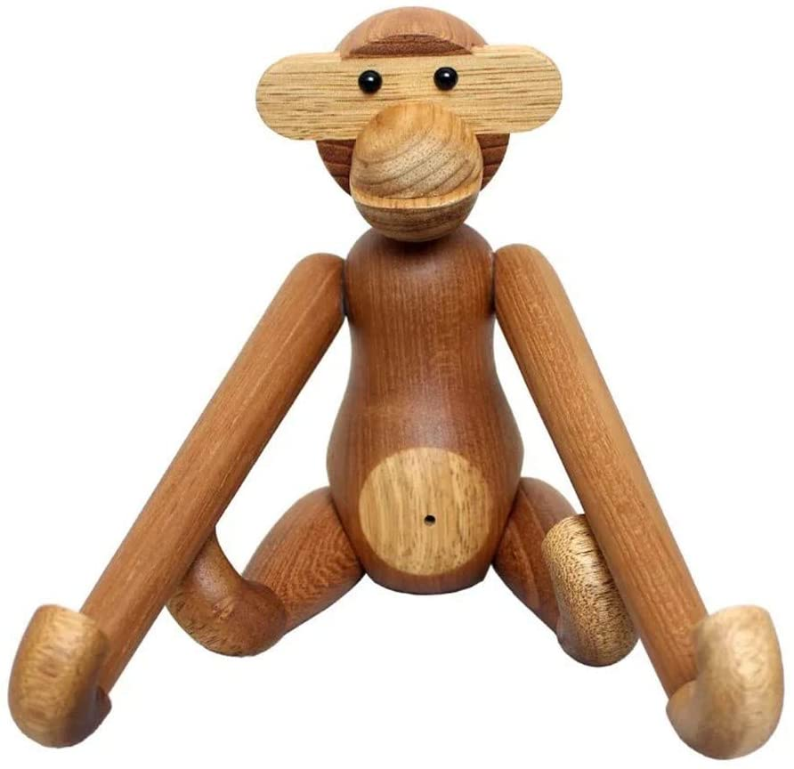 Wooden Hanging arm Monkey