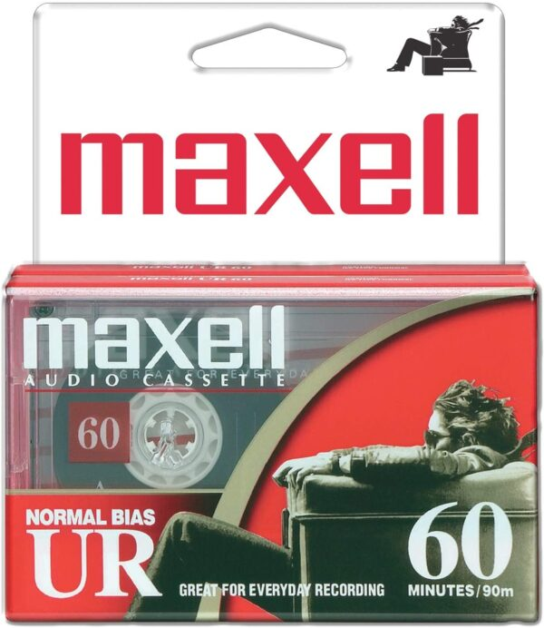 2 Pack Cassettes from Maxell