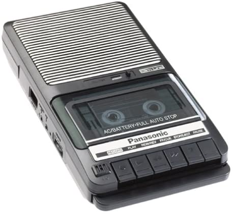 Cassette Recorder from Panasonic