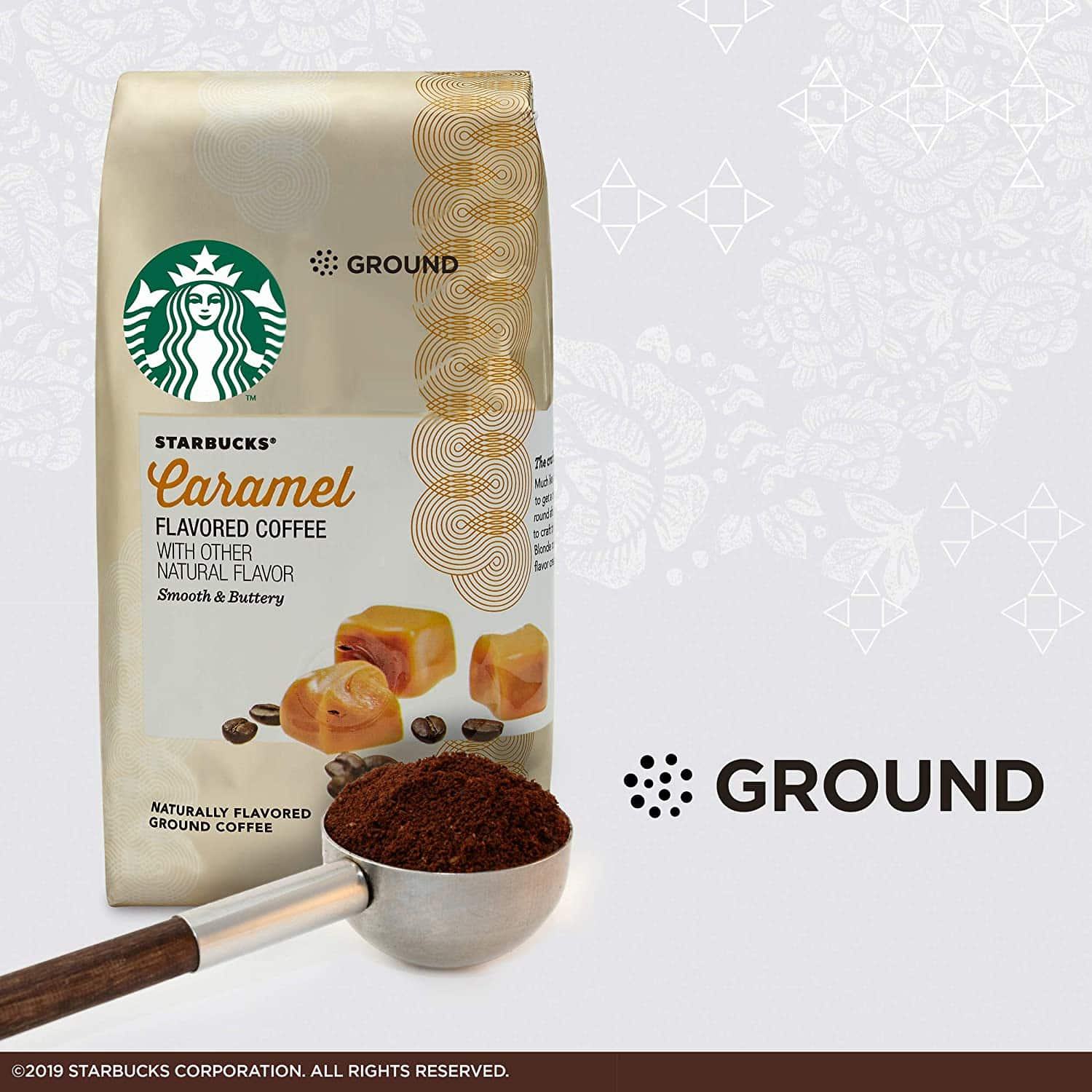 flavored ground coffees