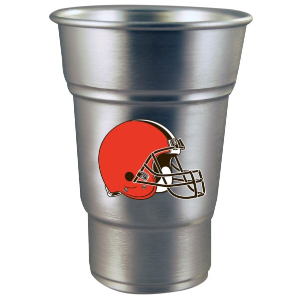 Cleveland Browns Aluminum Party Cup