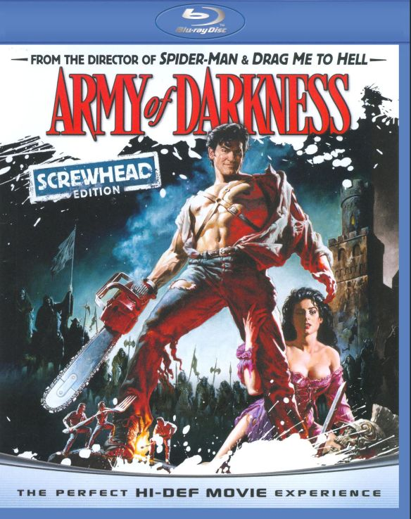 Army of Darkness [Screwhead Edition] [$5 Halloween Candy Cash Offer] [Blu-ray] [1992]