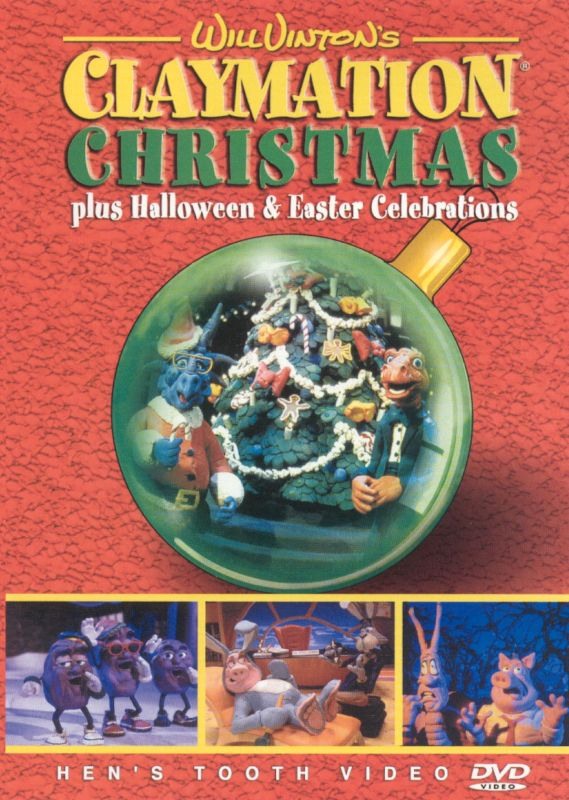 Will Vinton's Claymation Christmas Plus Halloween & Easter Celebrations [DVD]