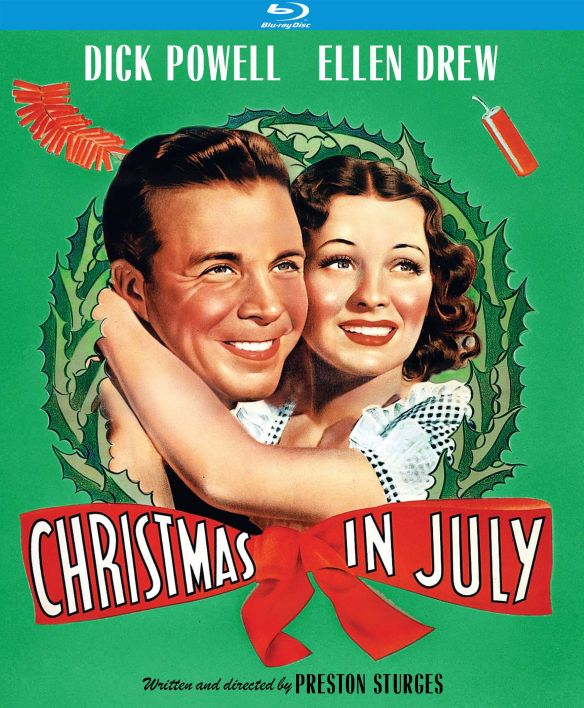Christmas in July [Blu-ray] [1940]