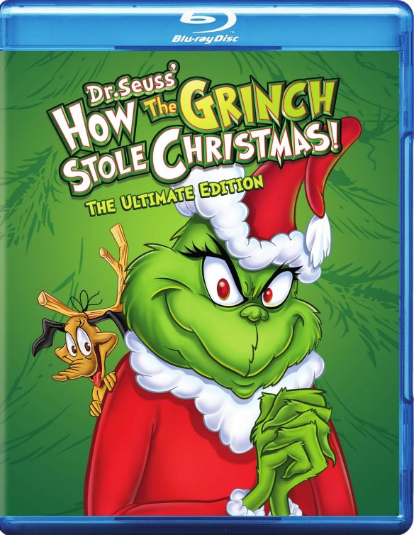 Dr. Seuss' How the Grinch Stole Christmas: The Ultimate Edition [Blu-ray] [1966]