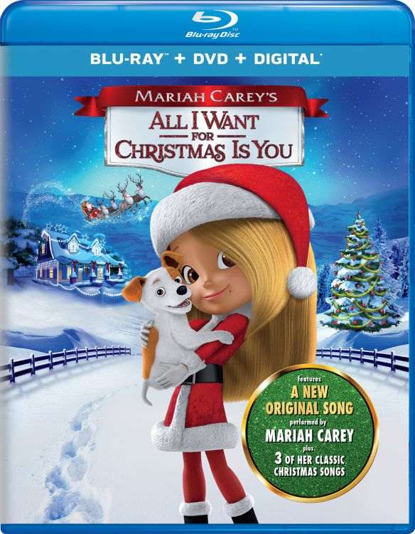 Mariah Carey's All I Want for Christmas Is You [Blu-ray] [2017]