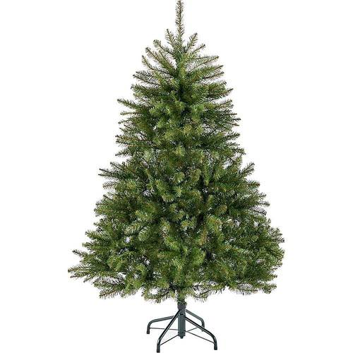 Noble House - 4.5' Fraser Fir Unlit Hinged Artificial Christmas Tree - Green