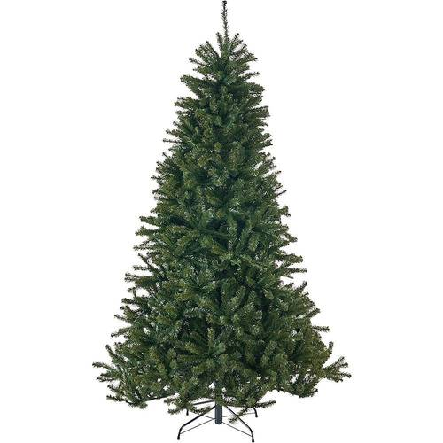 Noble House - 4.5' Noble Fir Unlit Hinged Artificial Christmas Tree - Green
