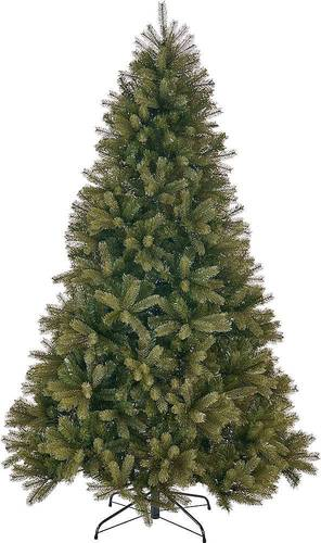 Noble House - 7' Mixed Spruce Unlit Artificial Christmas Tree - Green