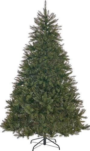 Noble House - 9' Fraser Fir Unlit Hinged Artificial Christmas Tree - Green