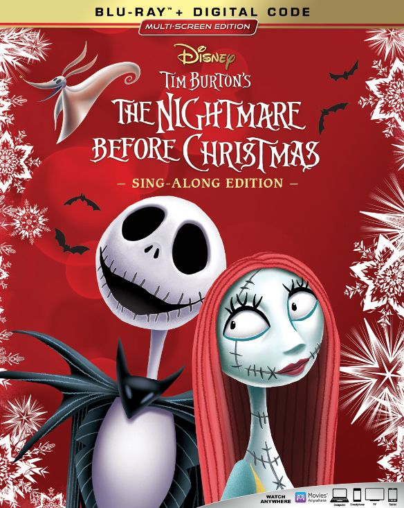 The Nightmare Before Christmas [Includes Digital Copy] [Blu-ray] [1993]