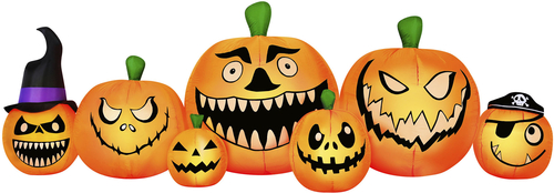 Banzai - Occasions 8.5' Wide Inflatable Pumpkin Patch