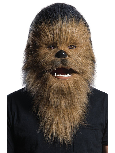 Rubie's - Chewbacca Moving Mouth Mask