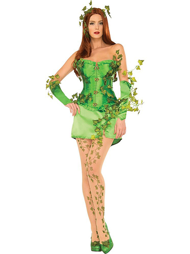 Rubie's - Deluxe Women's Sexy Poison Ivy Costume
