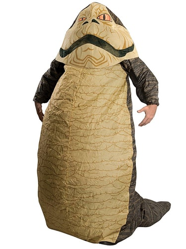 Rubie's - Inflatable Adult Jabba The Hutt Star Wars Costume