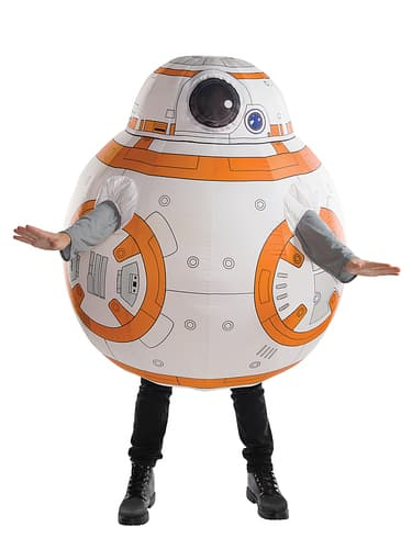 Rubie's - Inflatable Adult Star Wars BB-8 Costume