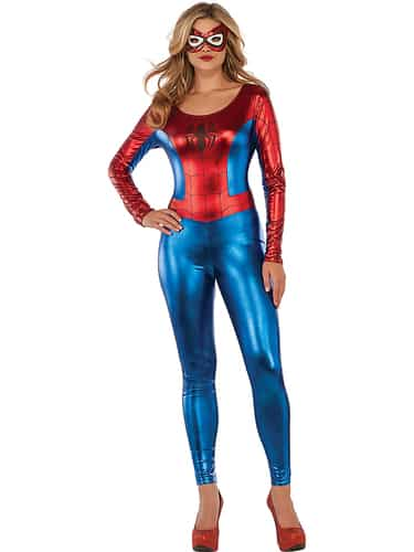 Rubie's - Spider-Girl Catsuit Costume for Adults - Multi