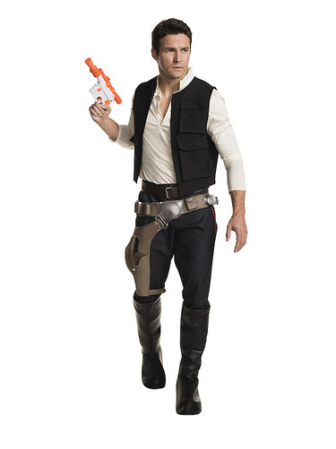 Rubie's - Star Wars Han Solo Costume for Adults